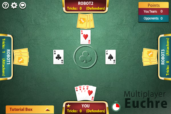 Click to view Multiplayer Euchre screenshots