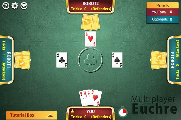 Multiplayer Euchre full screenshot