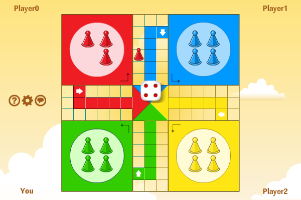 Multiplayer Ludo screenshot