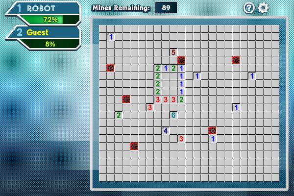 Mine Sweeping Race screenshot