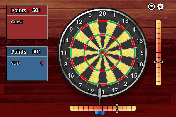 Multiplayer Darts full screenshot