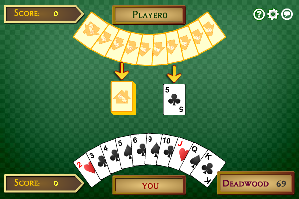 Click to view Multiplayer Gin Rummy screenshots