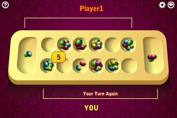 Click to view Multiplayer Mancala screenshots