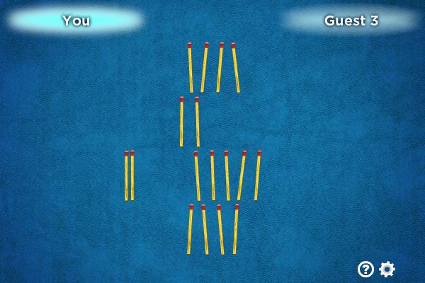 Multiplayer Nim screenshot