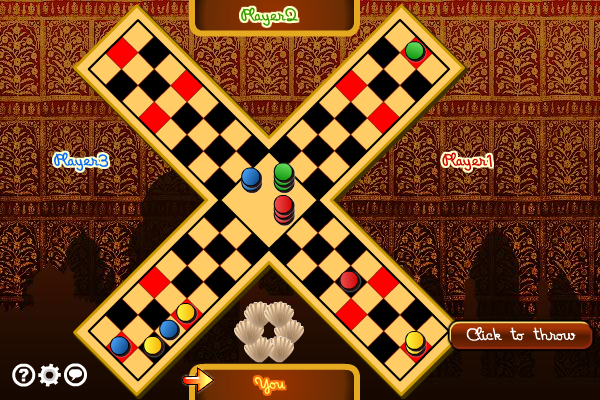 Multiplayer Pachisi