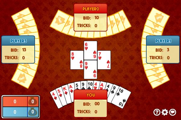 Multiplayer Spades screenshot